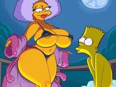 Simpsons pornô que a tv não passa